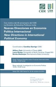 Simposio: Economía Política Internacional